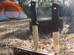bushcraft knife fallkniven f1 and s1