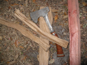 bushcraft custom hatchet estwing